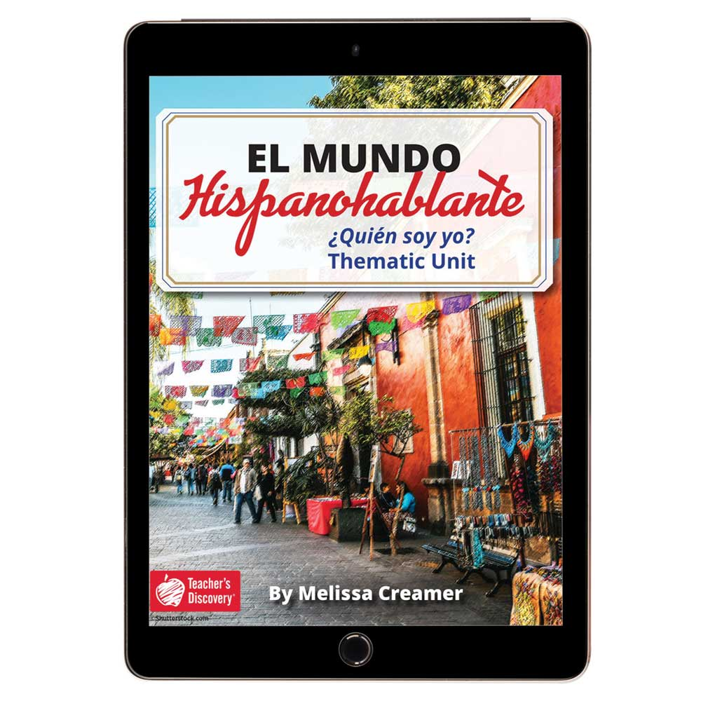 El mundo hispanohablante: ¿Quién soy yo? Spanish Thematic Unit - HYBRID LEARNING DOWNLOAD