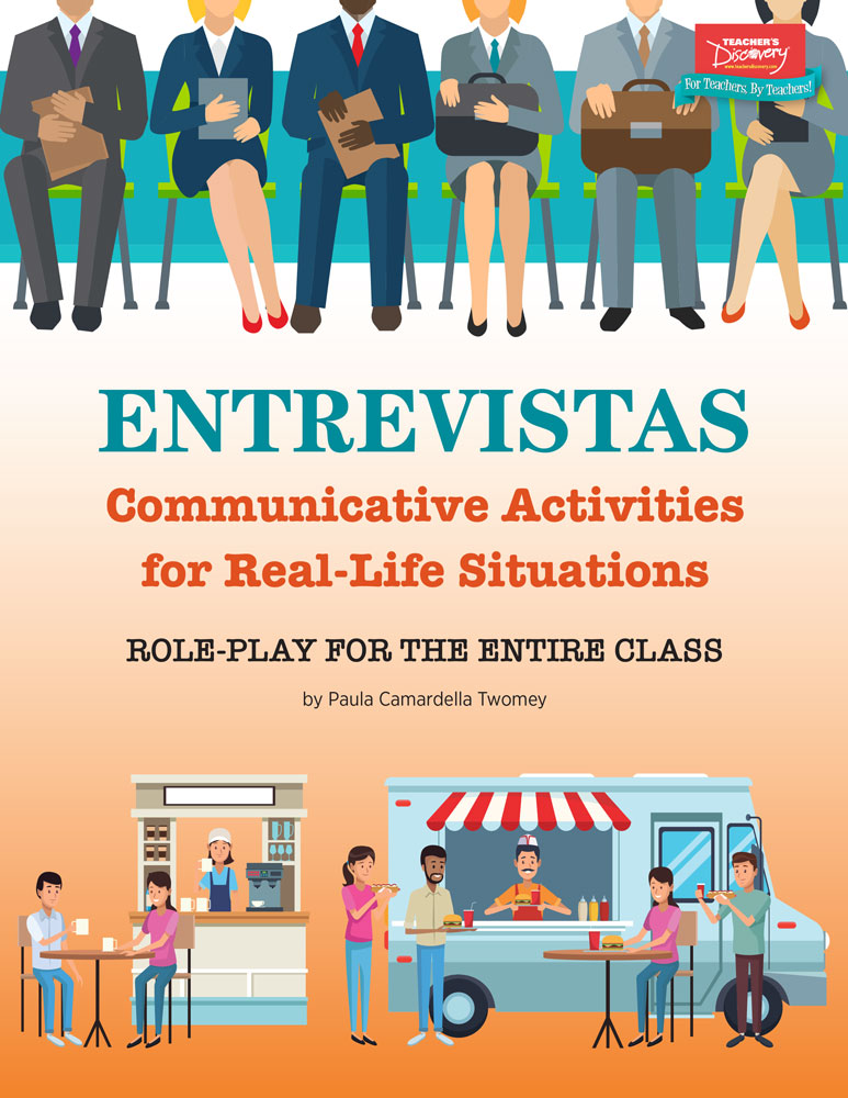Entrevistas: Communicative Activities for Real-Life Situations Book