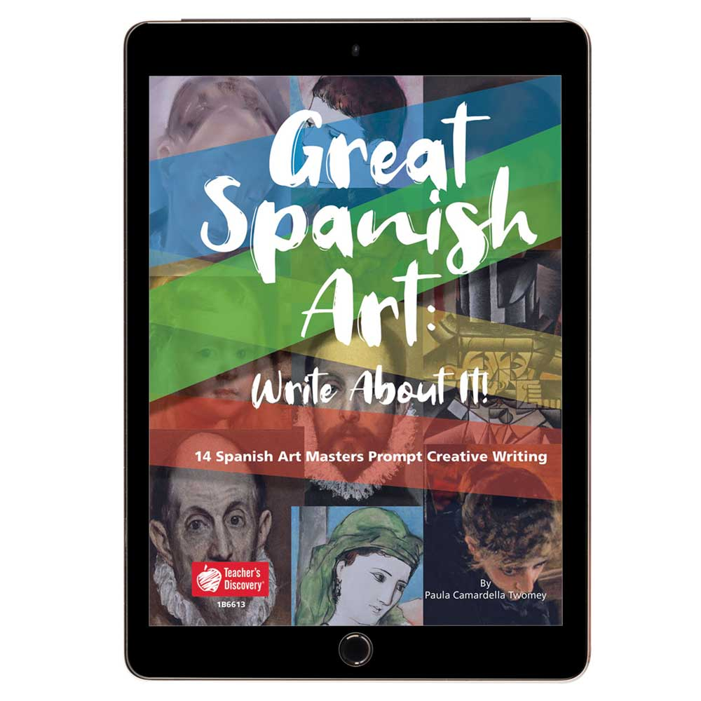 Great Spanish Art: Write About It! Book