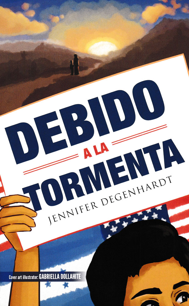 Debido a la tormenta Spanish Level 1 Reader