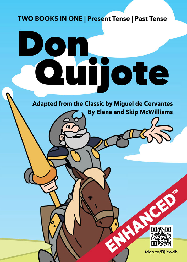 Don Quijote Spanish Level 1–2 Enhanced™ Reader