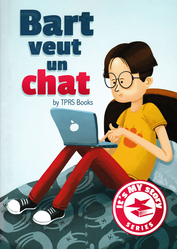 Bart veut un chat French Level 1 Reader
