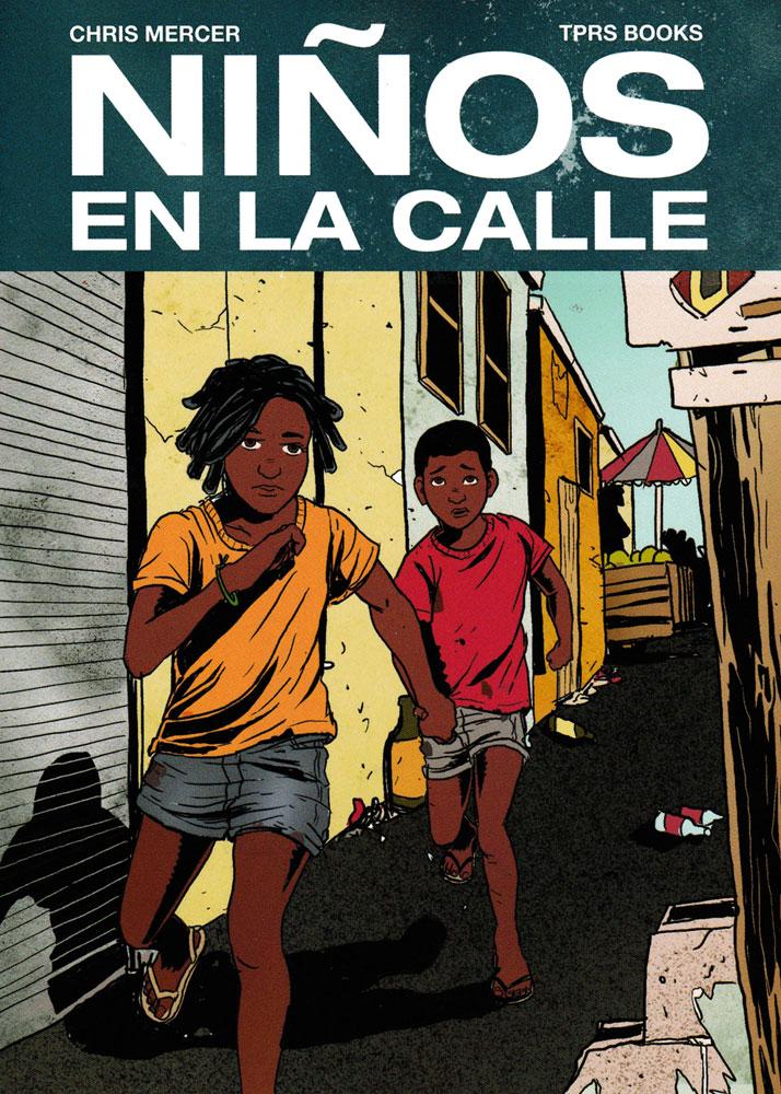 Niños en la calle Spanish Level 2 Reader