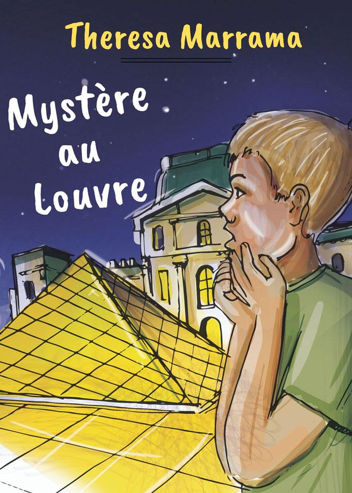 Mystère au Louvre French Level 2+ Reader
