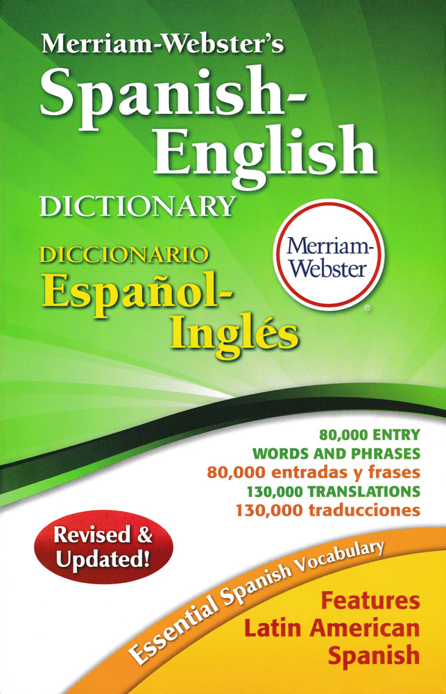 merriam webster teacher s discovery merriam webster s spanish english 5 x 8 dictionary
