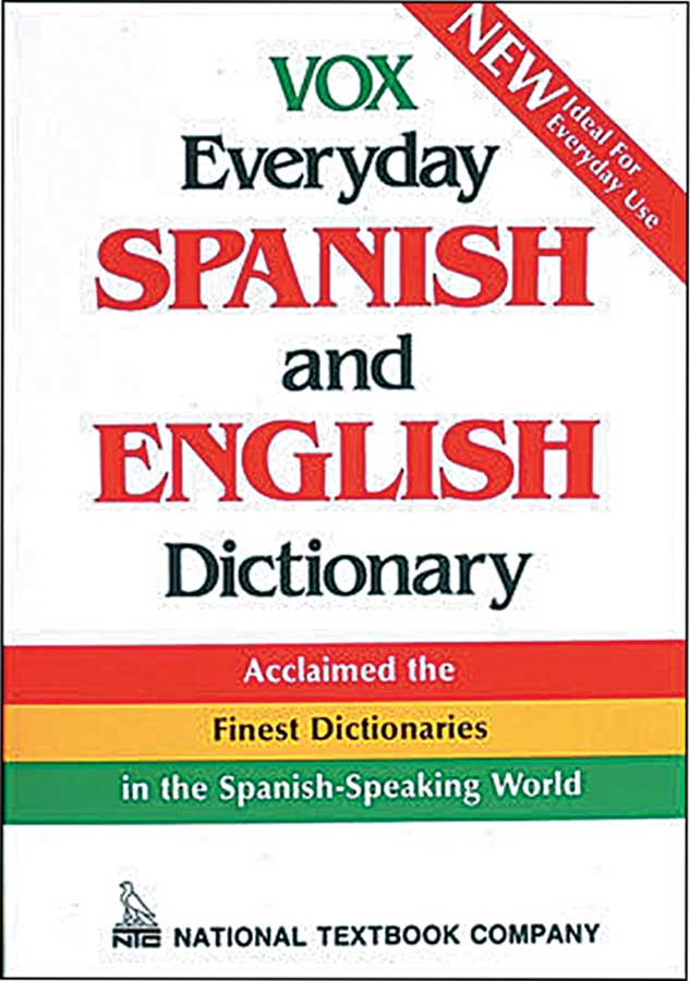 VOX Everyday Spanish & English Dictionary