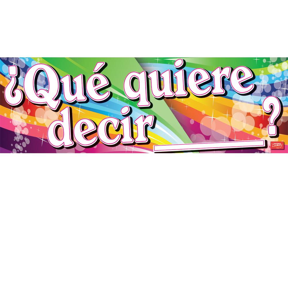 Qu quiere decir what does mean spanish for Que quiere decir clausula suelo