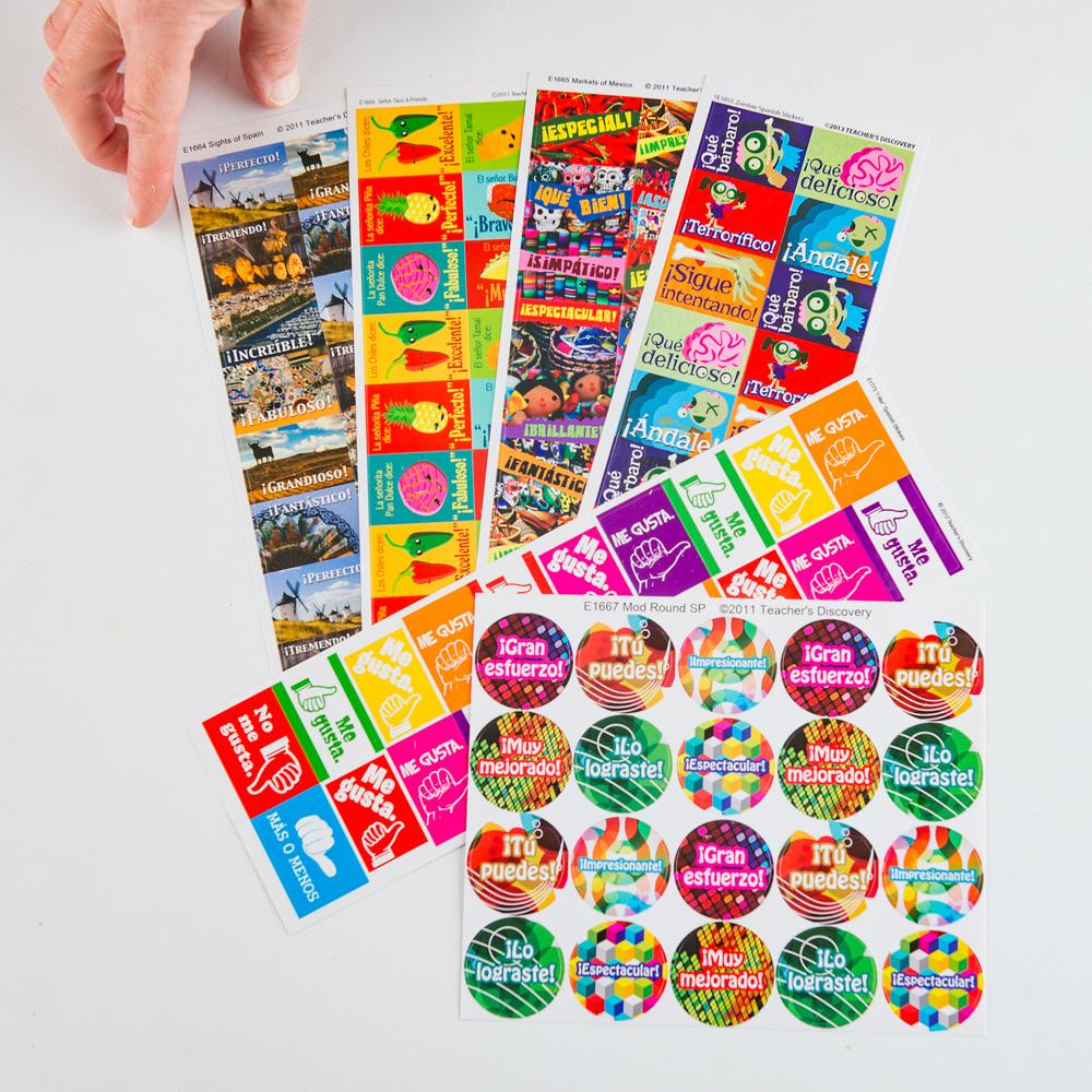 Sampler Spanish Sticker Pack (420)
