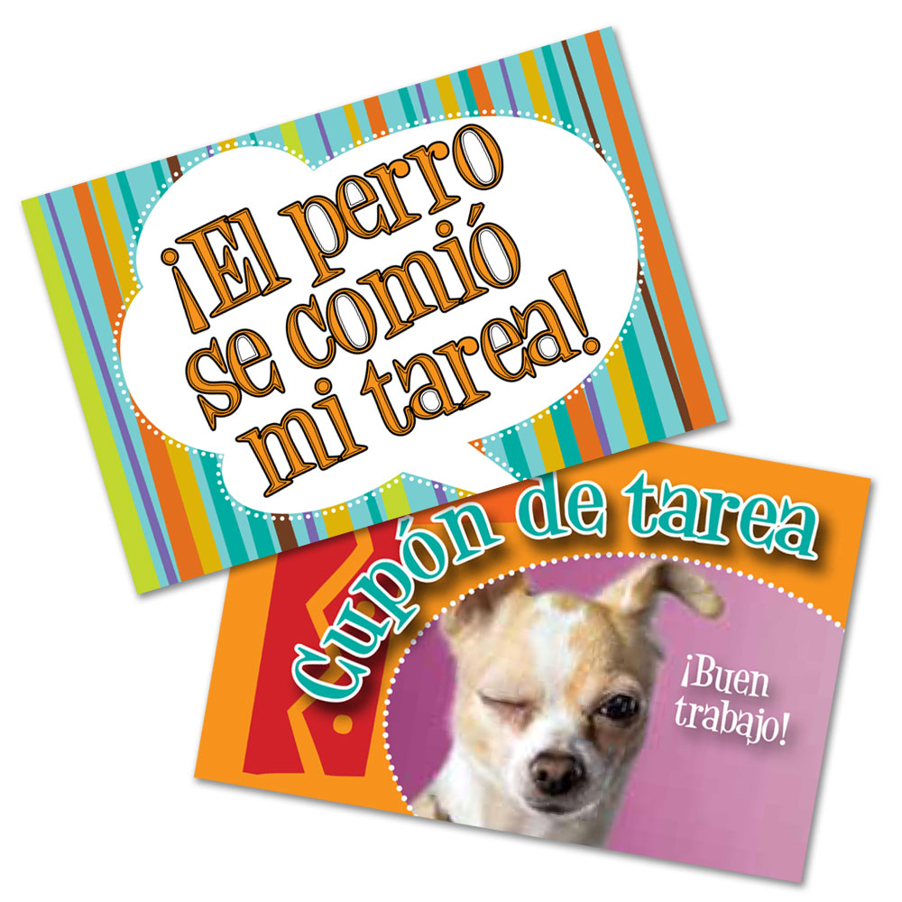 Spanish Homework Coupons  (2013)