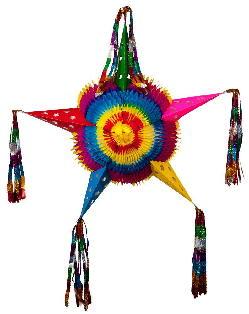 Collapsible Pinata Star
