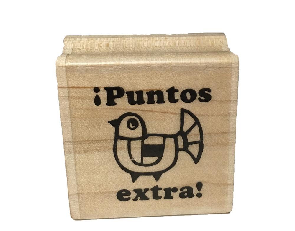 ¡Puntos extra! Spanish Stamper