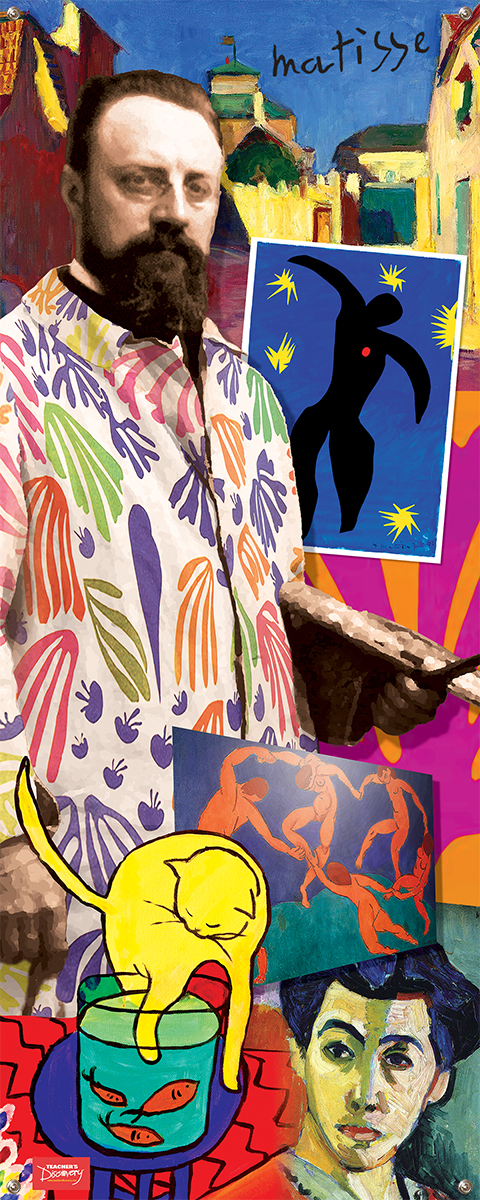 Henri Matisse Vinyl Banner