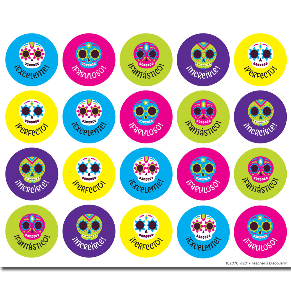Calaveras Stickers