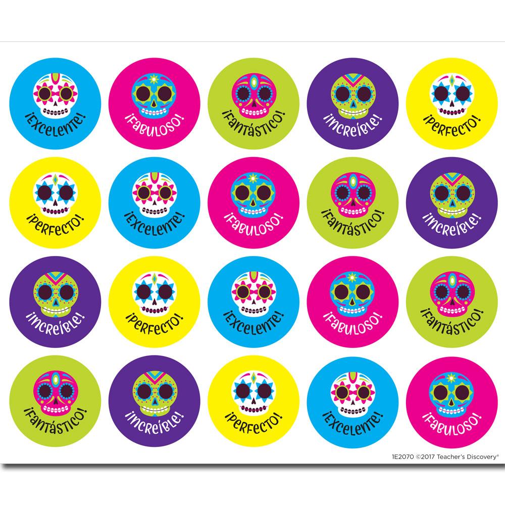 Calaveras Stickers