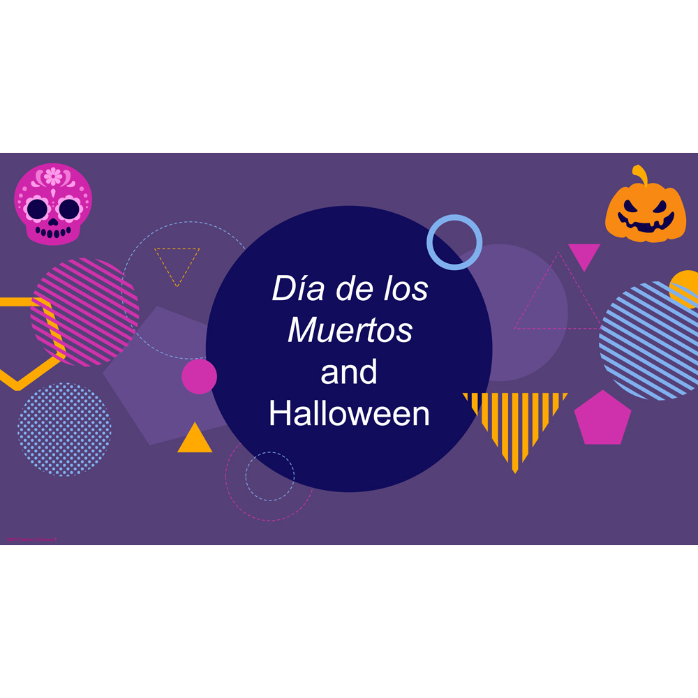 Day of the Dead and Halloween PowerPoint® Download