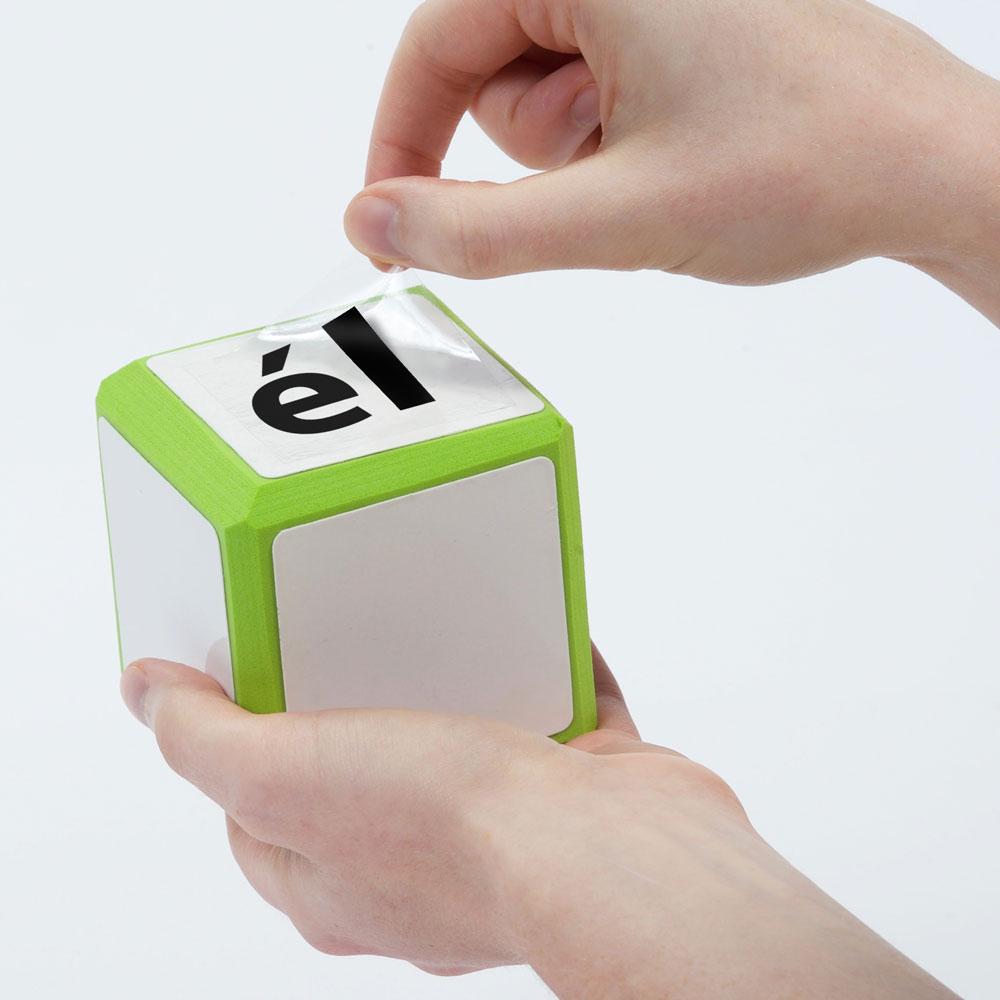 Cool Cubes™ Sentence Starter Spanish Clings