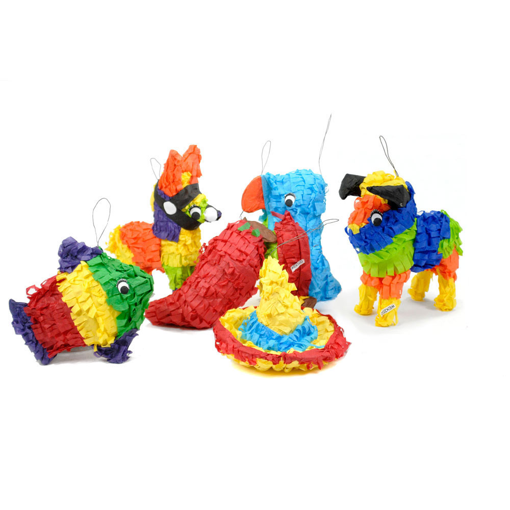 Mini-Piñatas - Set of 30