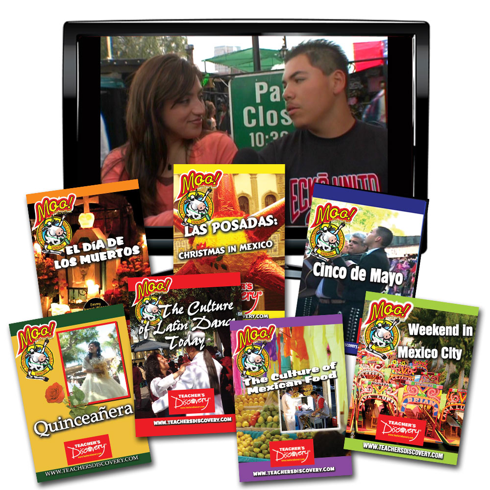 Moo!™ Culture Spanish Video Set of 7