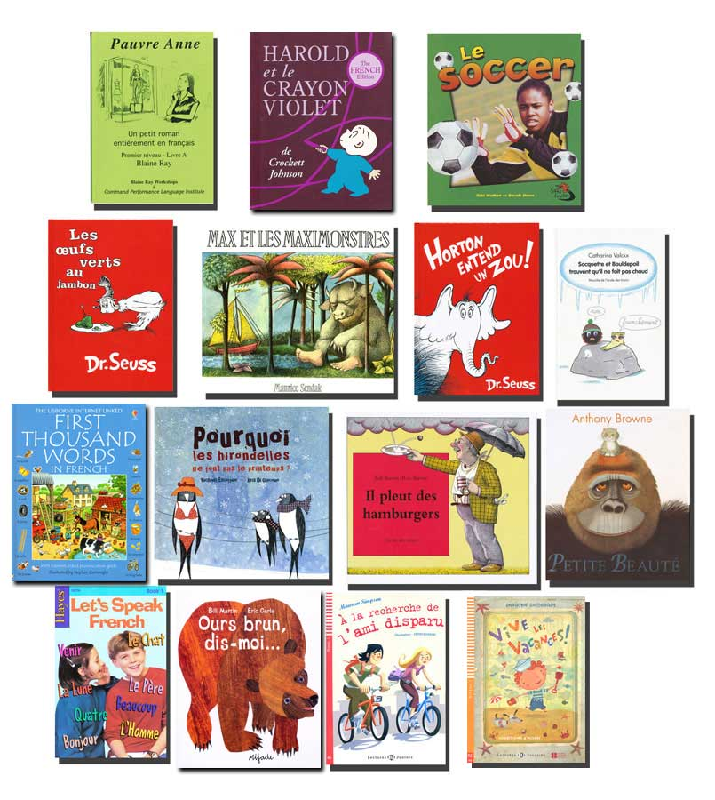 French Starter Library Set of 15 Story Books