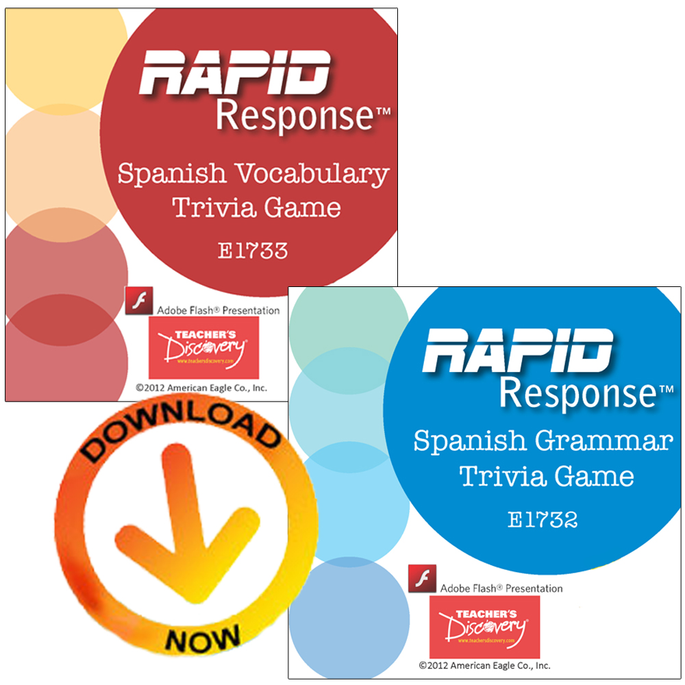 Rapid Response Set of 2 Trivia Games Download