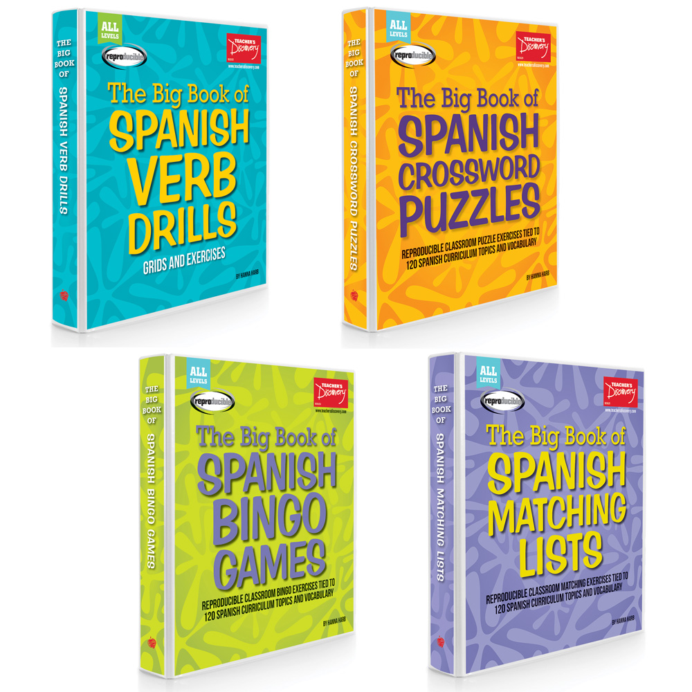 Hanna Harb Spanish Big Books Set of 4 Books