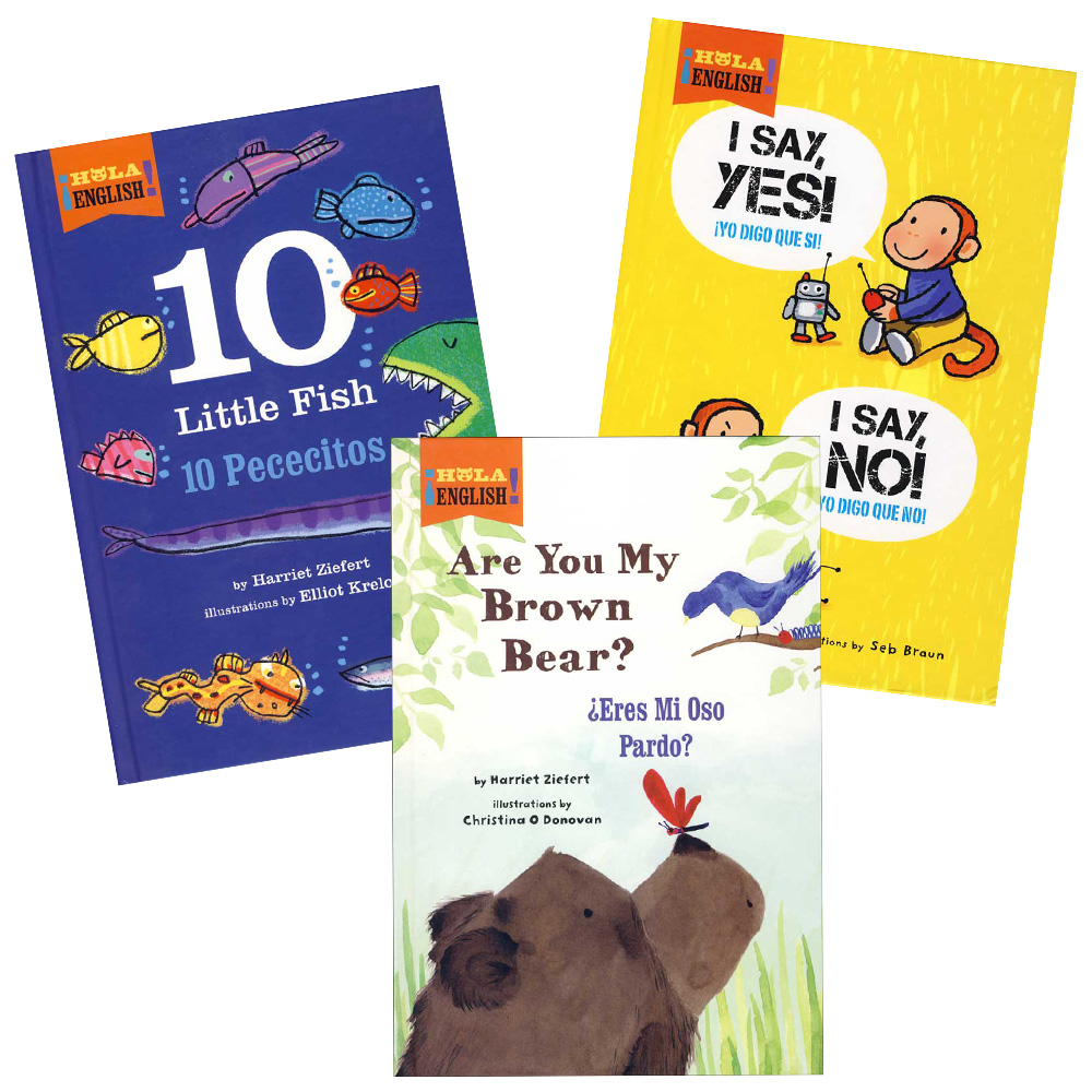 Bilingual Storybooks Set of 3