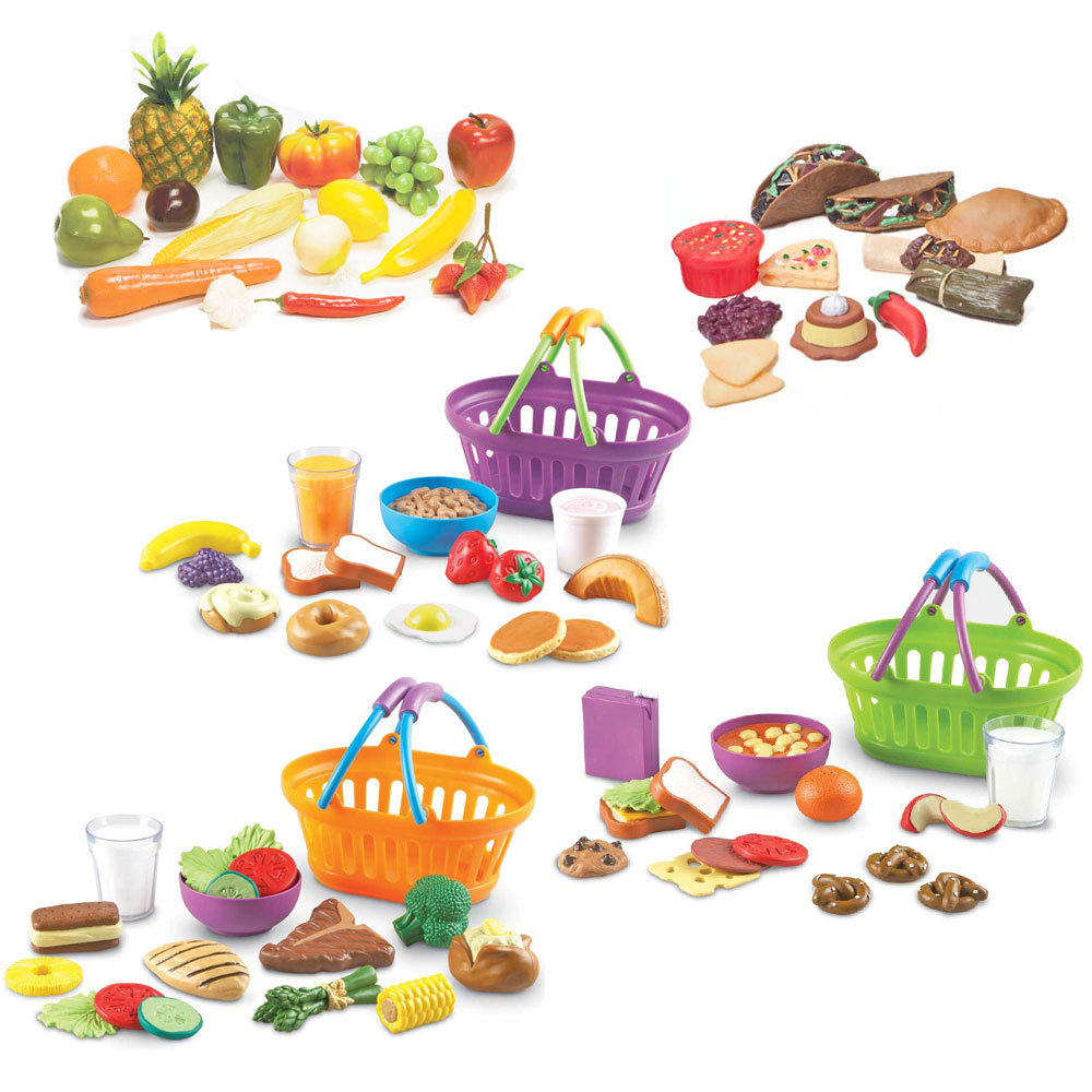 Food Basket Set For Spanish