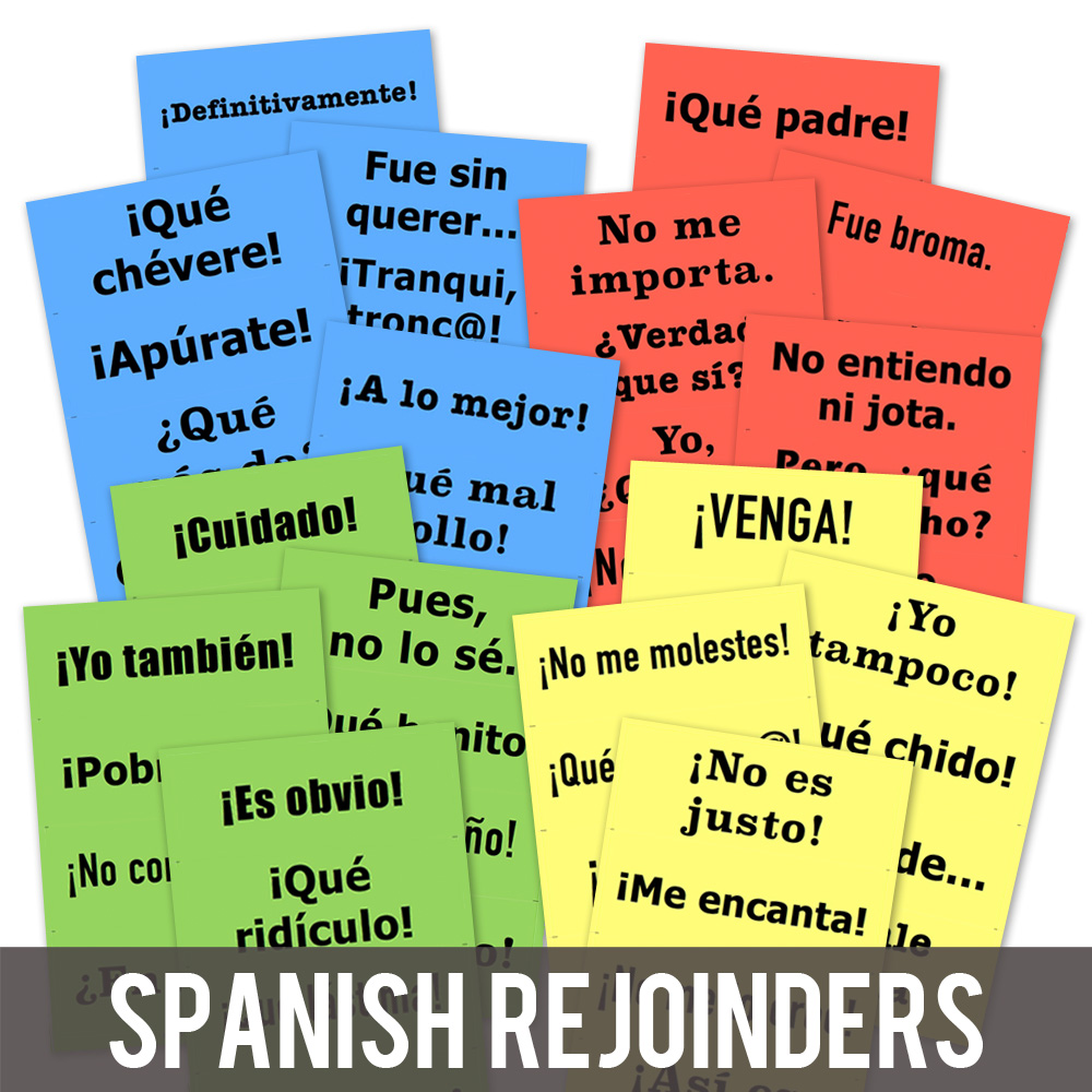Rejoinder Spanish Posters
