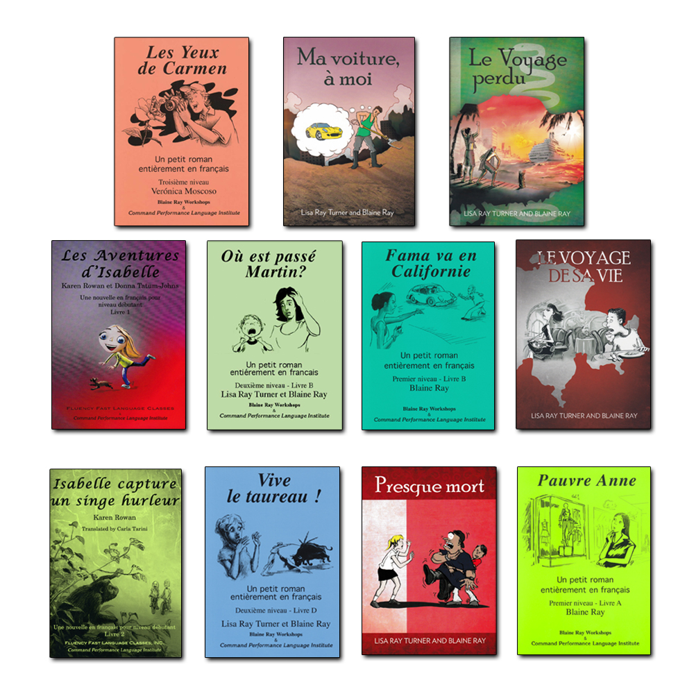 French TPR Reader Collection of 11 Readers
