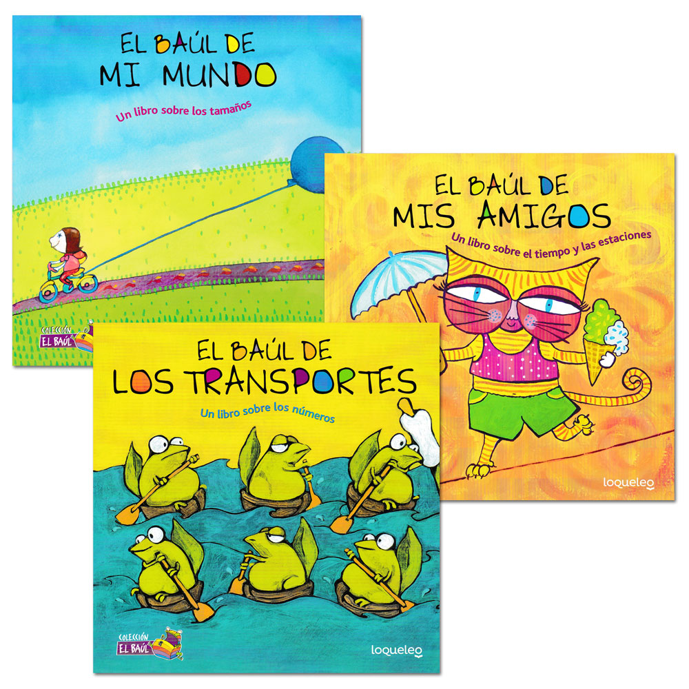 El baúl de... Spanish Picture Books - Set of 3