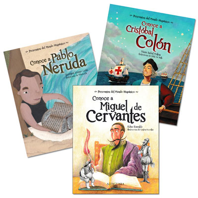Conoce a... Spanish Books - Set of 3