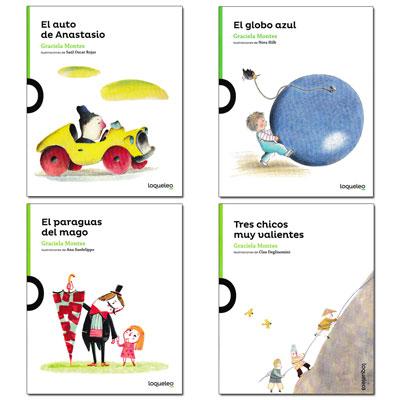 Little Story Books - Set of 4 Spanish Books