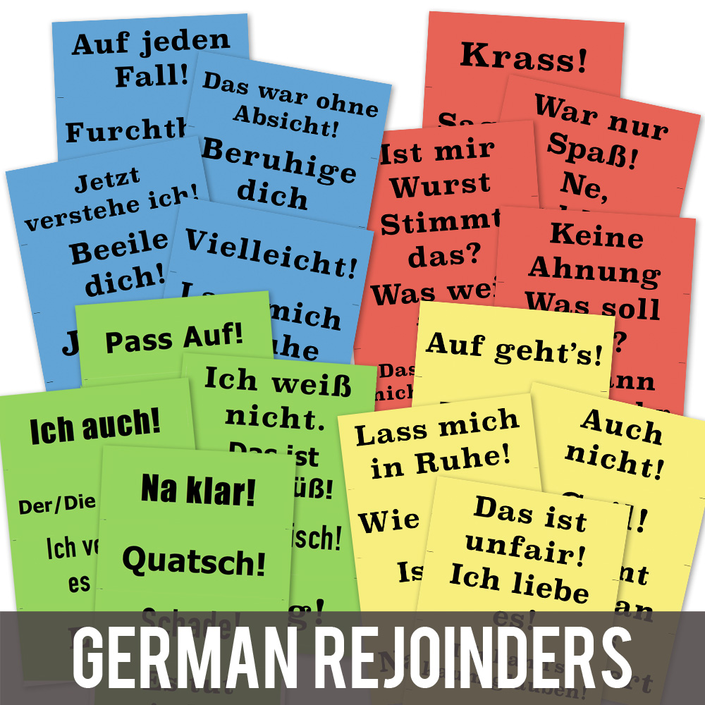 Rejoinder German Posters