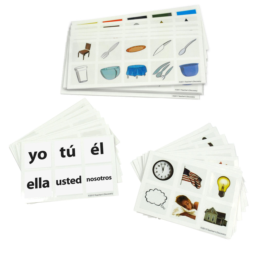 Cool Cubes­™ Spanish Clings Set