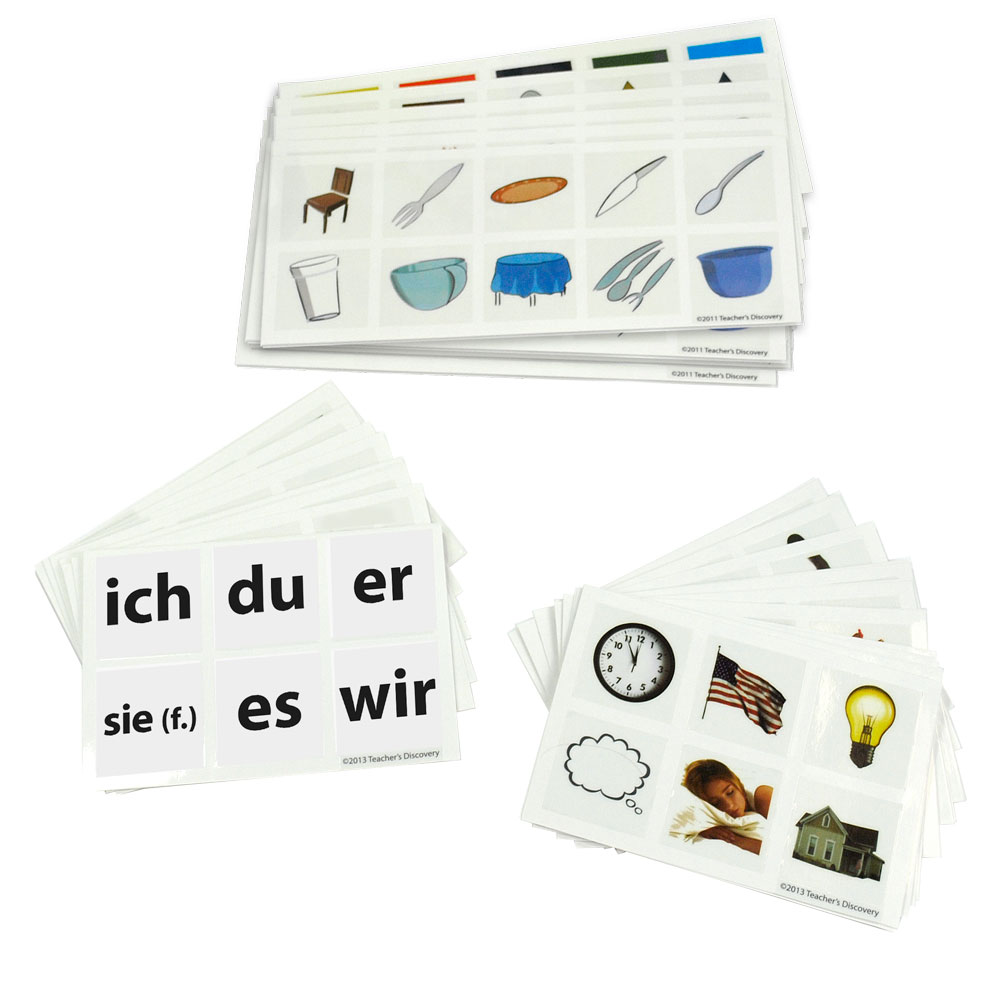 Cool Cubes­™ German Clings Set