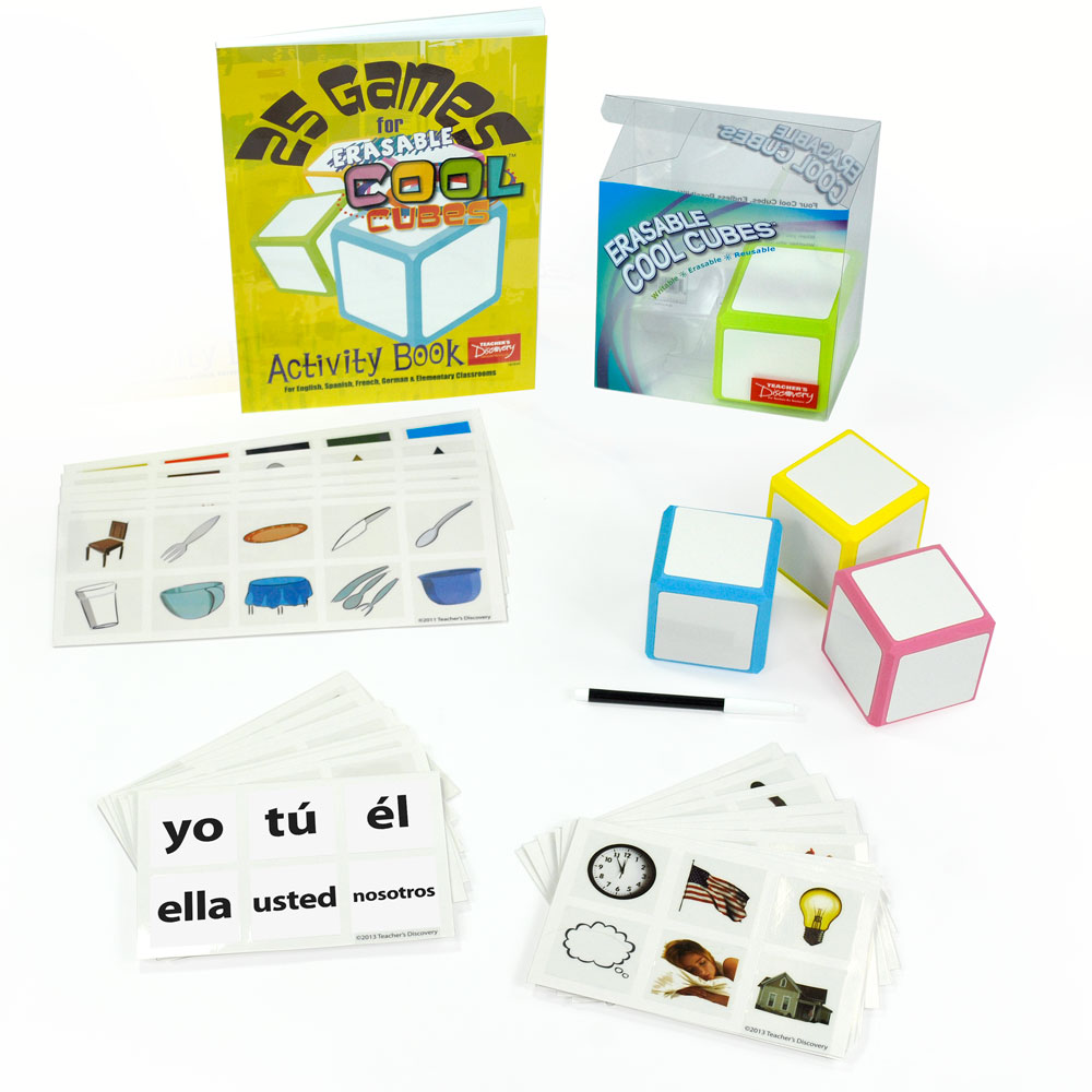 Cool Cubes­™ Spanish Starter Set