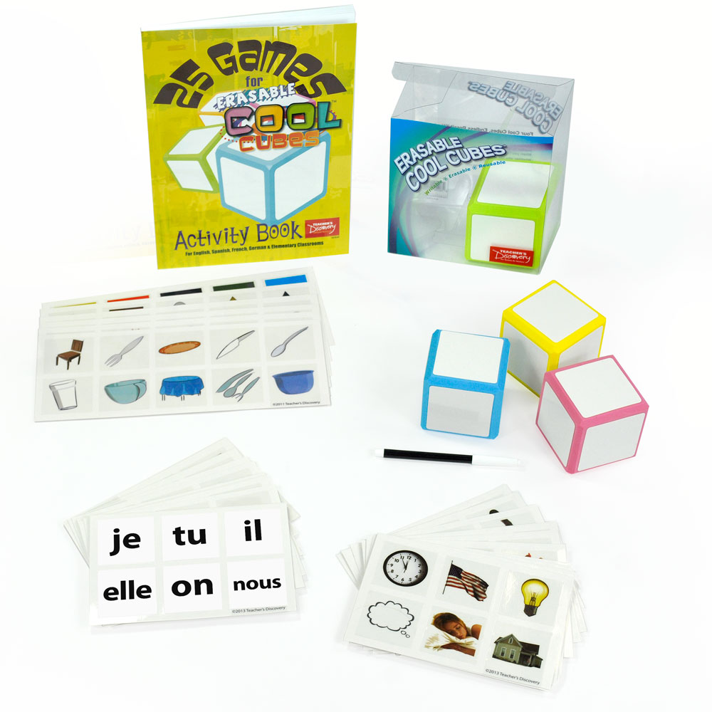 Cool Cubes­™ French Starter Set