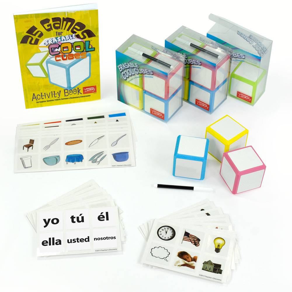 Cool Cubes­™ Spanish Ultra Set