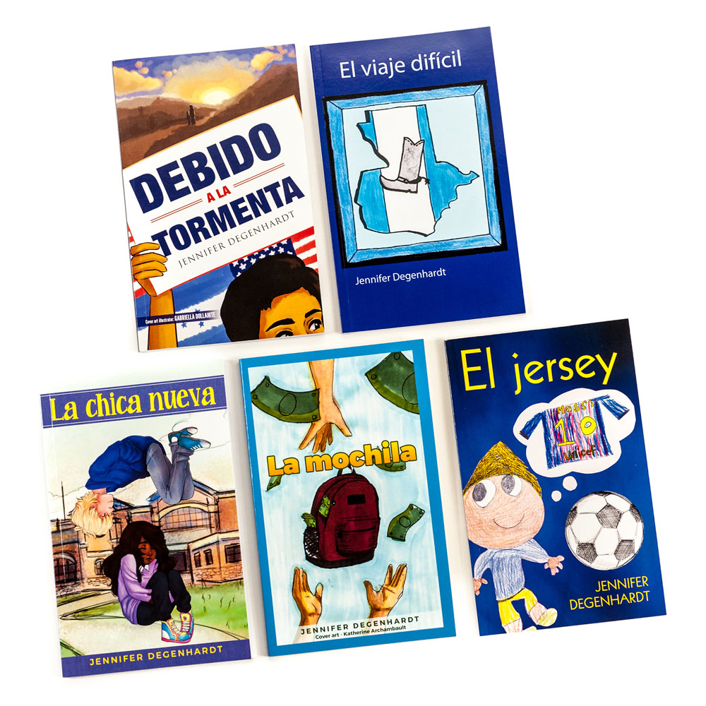 Jennifer Degenhardt Spanish Level 1 FVR Library Bundle