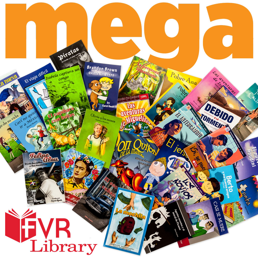 Mega 30 Spanish Level 1 FVR Library Bundle