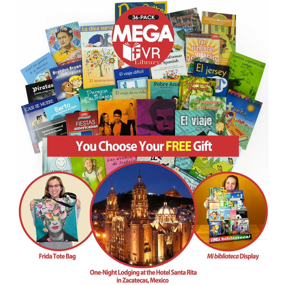 Mega 36 Spanish Level 1 FVR Library Bundle