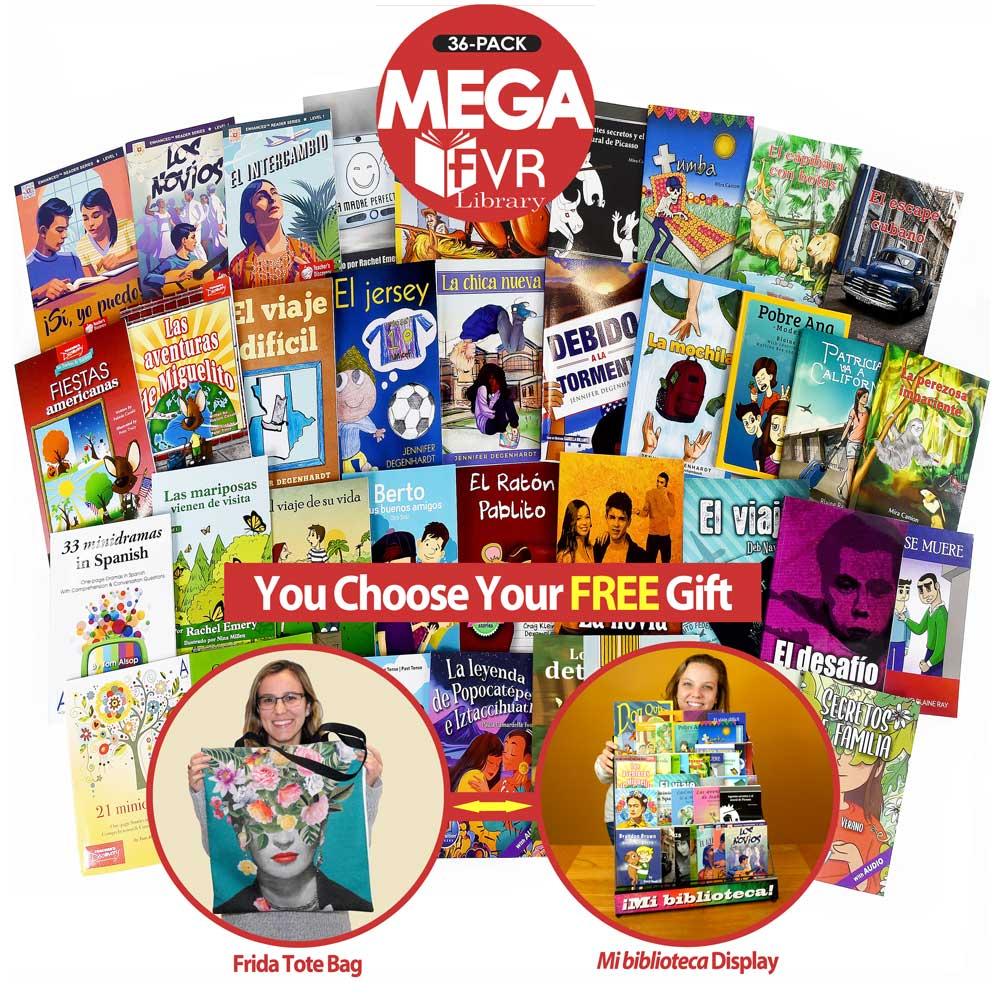 Mega 36 Spanish Level 1 FVR Library Bundle
