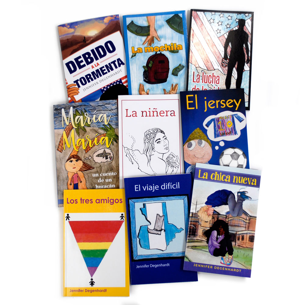 Jennifer Degenhardt Spanish Level 1–3 FVR Library Bundle