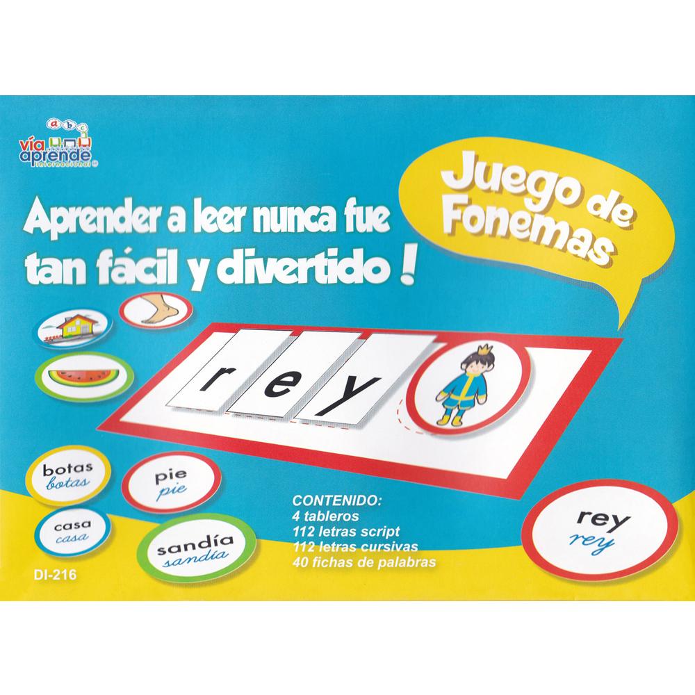 Juego de fonemas Spanish Game