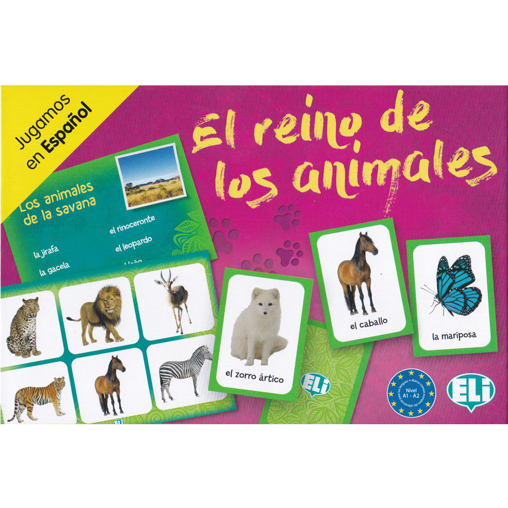 El reino de los animales Spanish Game