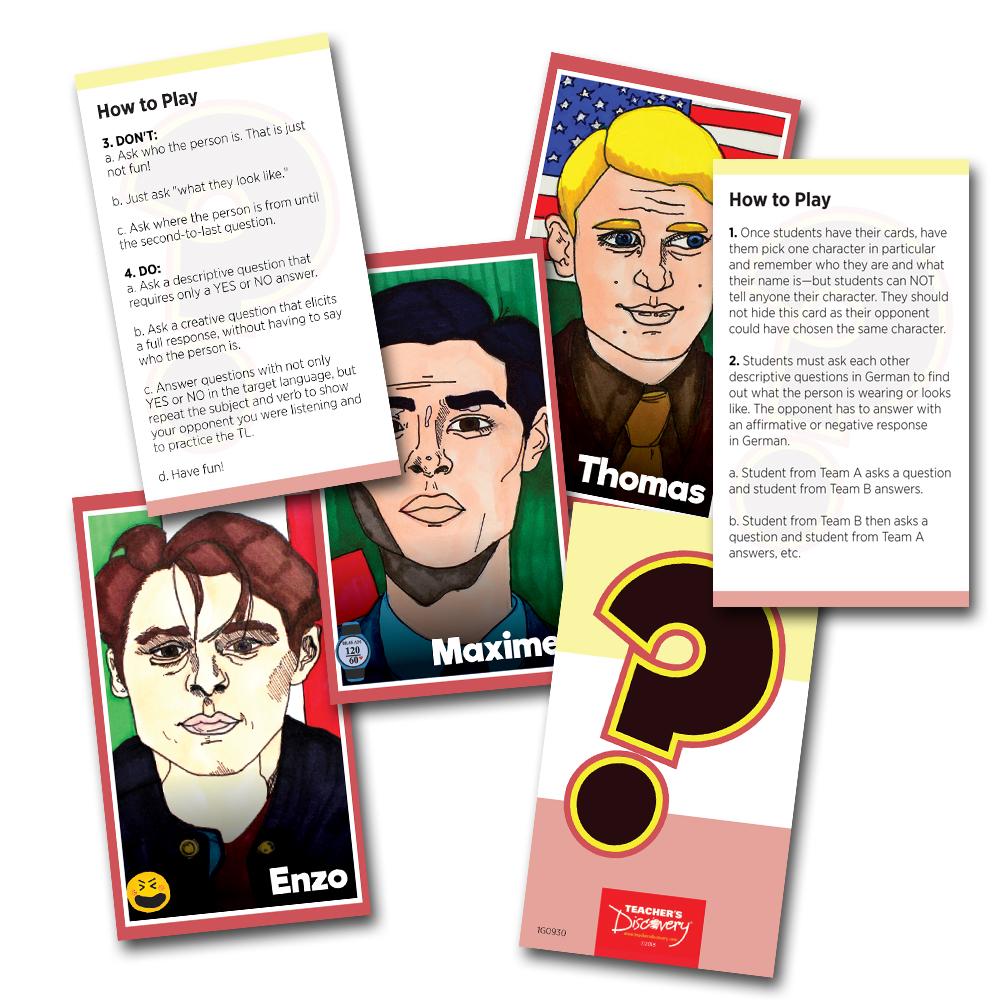Wer Ist Es? German Card Game