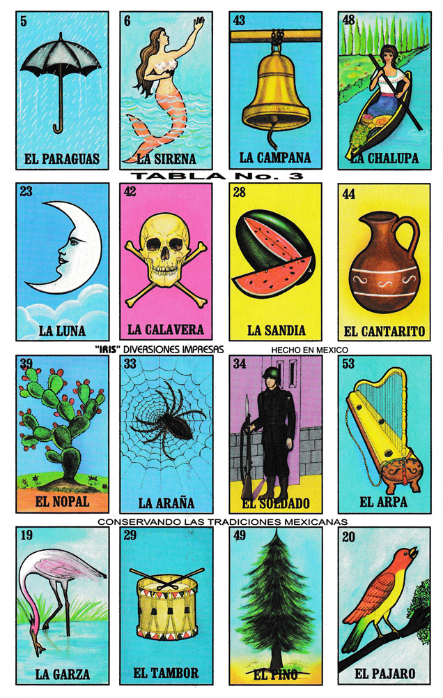 photograph about Printable Loteria Mexicana identify Lotería mexicana pequeño Spanish Video game