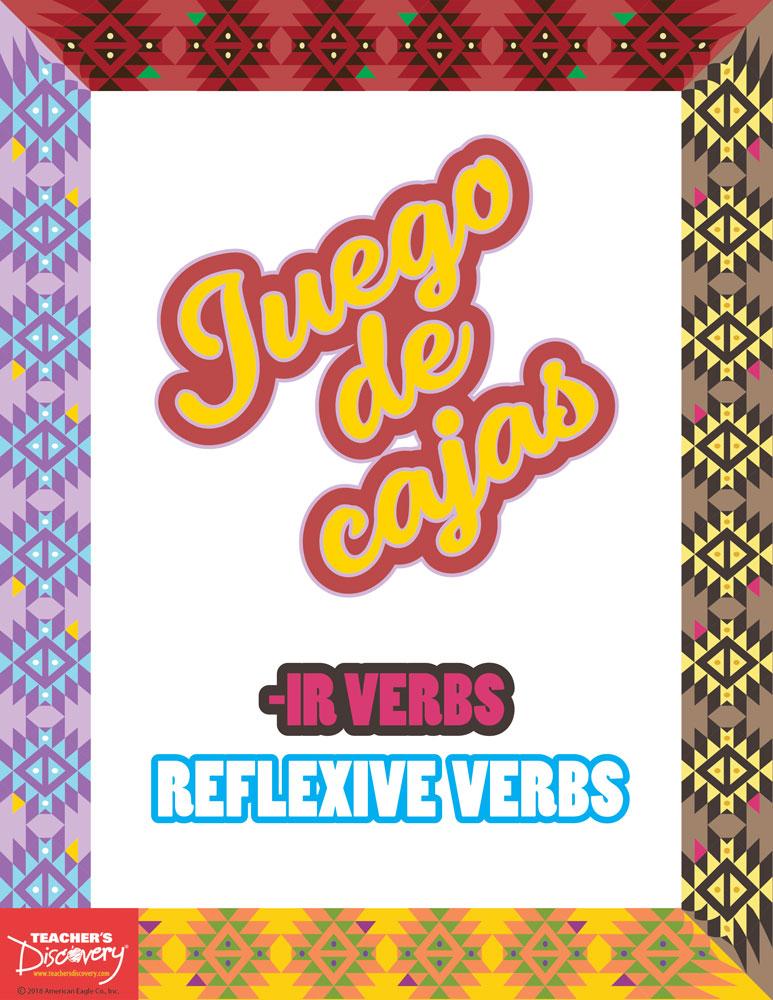 Juego de cajas: -IR/Reflexive Verbs Game