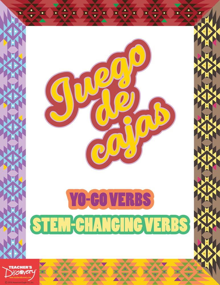 Juego de cajas: YO-GO/Stem-Changing Verbs Game