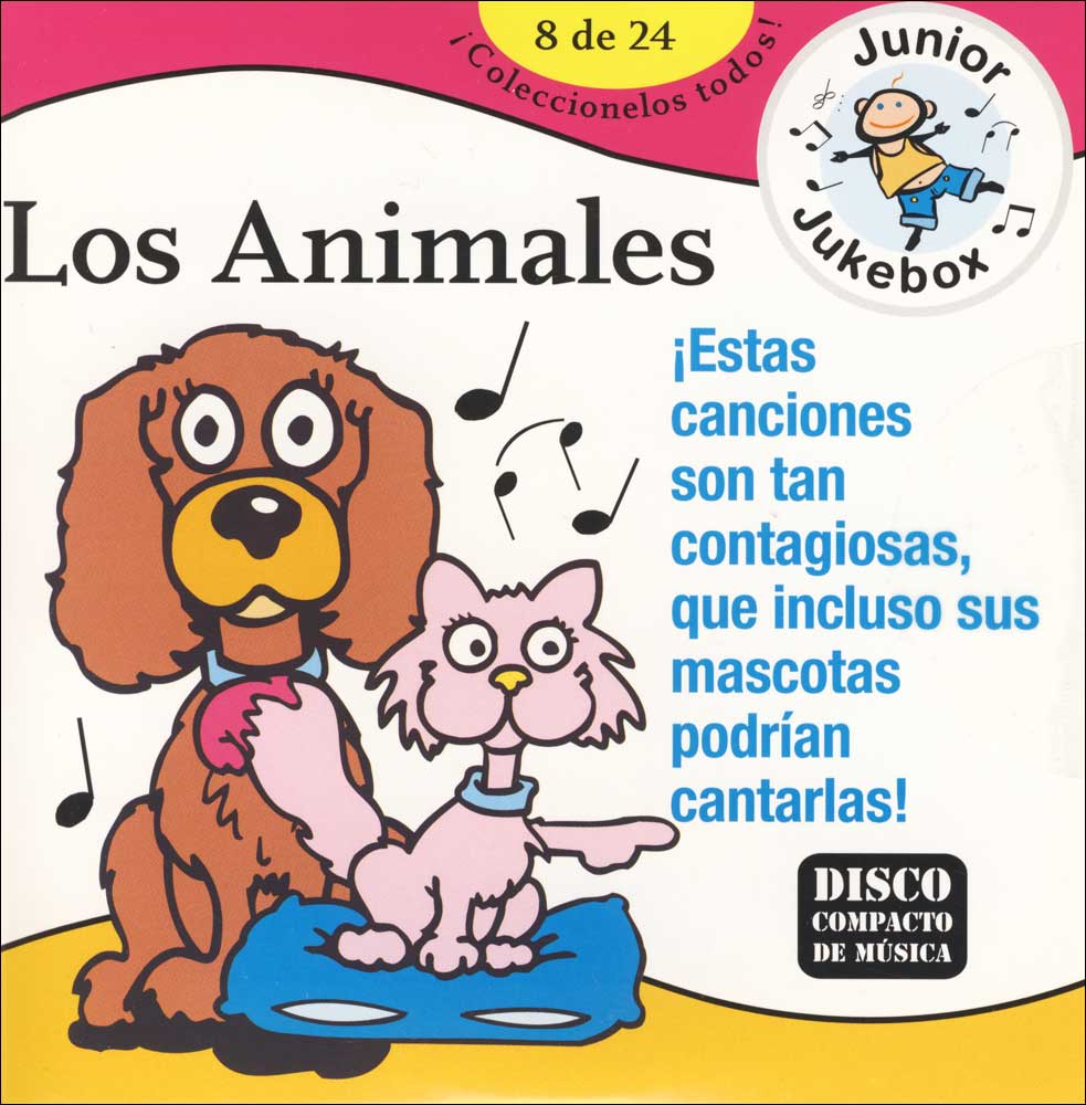Los Animales Spanish CD